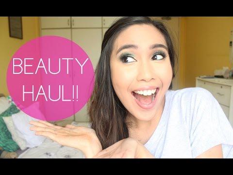 Beauty Haul! (Dec 2014) | Rustyshoes92