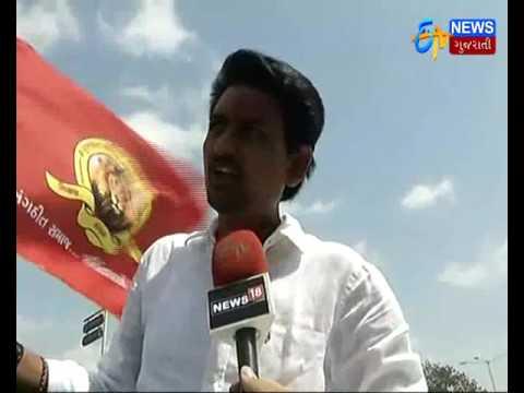 Ahmedabad: Alpesh Thakor's Sankalpyatra With 500 Cars   ETV Gujarati News
