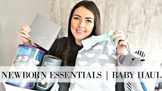 NEWBORN BABY HAUL | CLOTHING, ACCESSORIES & NEWBORN MUST HAVES | MAMA REID