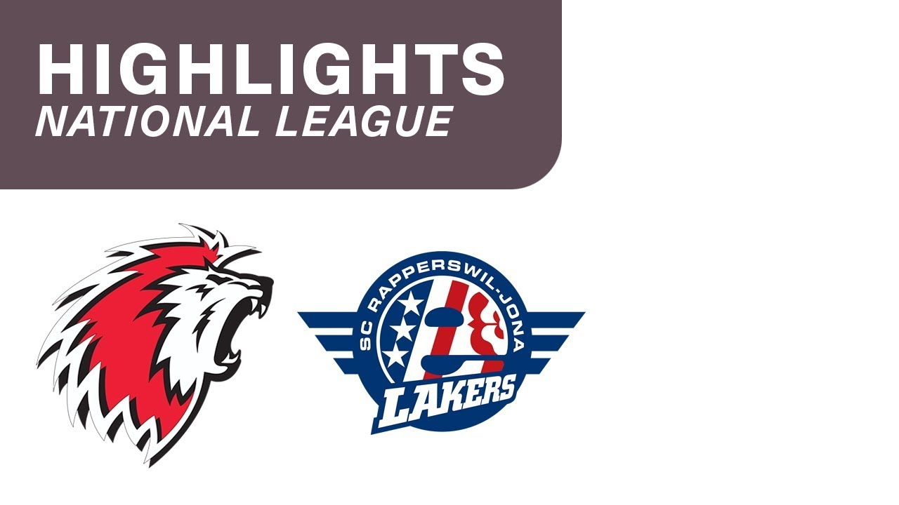Lausanne vs- SCRJ Lakers 6:1 - Highlights National League
