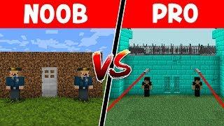 PRISÃO NOOB vs PRISÃO PRO NO MINECRAFT !!
