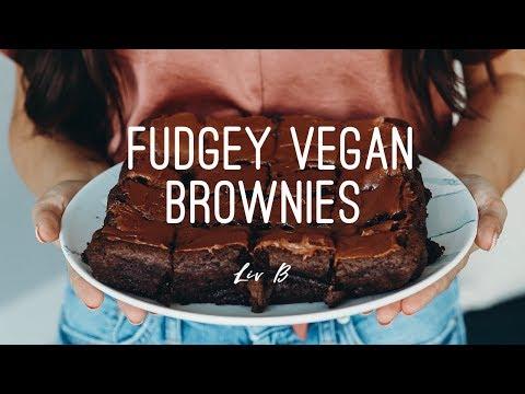 Fudgey Vegan Brownies | + gluten-free option