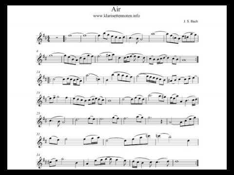 Air On G String   Play Clarinet