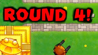 Bloons TD Battles: Round 4 Temple! | Beating ISAB's World Record!