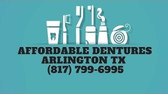 Affordable Dentures Arlington TX | Dental Care Texas | (817) 799-6995