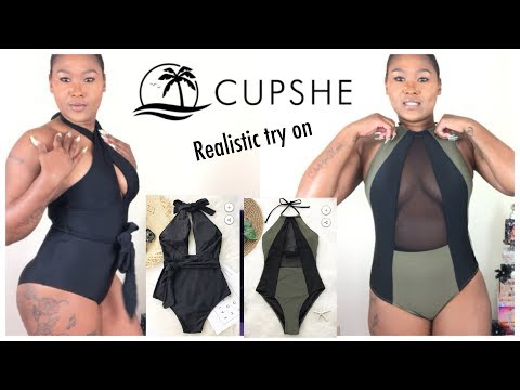 Realistic swimsuit review Ft cupshe
