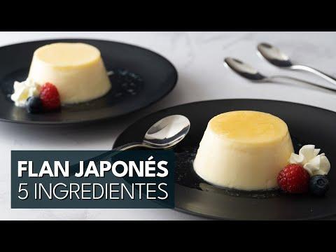 Receta Flan Japonés: 5 ingredientes, fácil y sin horno | ft. Cocina Japonesa