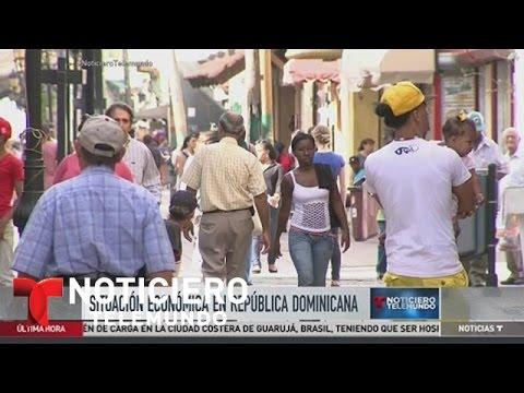 Registran crecimiento económico de República Dominicana | Noticiero | Noticias Telemundo