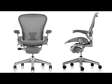 White Aeron Chair Aluminum Folding Lawn How A Herman Miller Is Made Brandmadetv Youtube