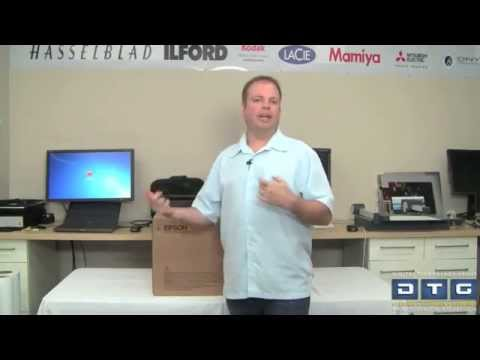 Epson P800 Setup and Installation