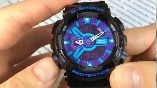 Як налаштувати годинник casio g-shock частина1
