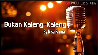 Download lagu Nisa Fauzia - Bukan Kaleng Kaleng l Lirik Video 2019 l The Best Song Of Nisa Fauzia