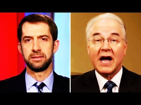 GOP Sen. Tom Cotton TRASHES Trumpcare, HHS Sec. Tom Price Lies Through His Teeth About It