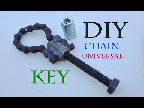 How to Make a Chain Universal Key /Amazing idea DIY