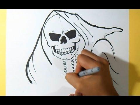 Santa Morte Grafite By Dw Youtube