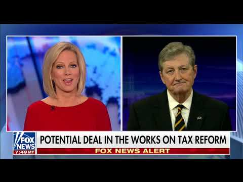 Sen. John Kennedy on Tax Reform & Healthcare-Fox News