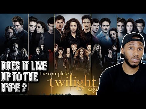 WATCHING TWILIGHT FOR THE FIRST TIME ( IN ONE DAY)