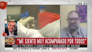 Habla Alberto Fernández (Parte 3)