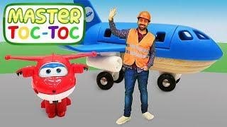 Master Toc-Toc №28 en français. Système d'électricité à l'aéroport. Vidéo pour enfants