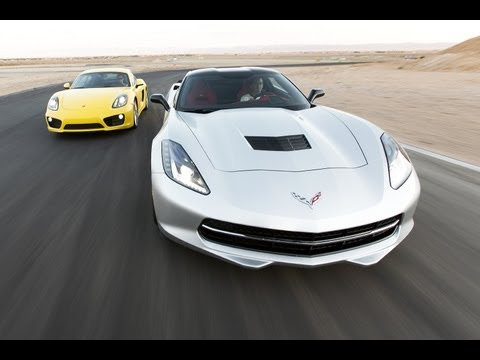 2014 Chevrolet Corvette Stingray vs 2014 Porsche Cayman S   Track Tested