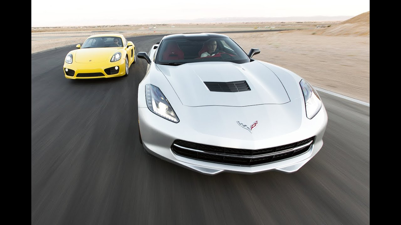 2014 Chevrolet Corvette Stingray Vs 2014 Porsche Cayman S