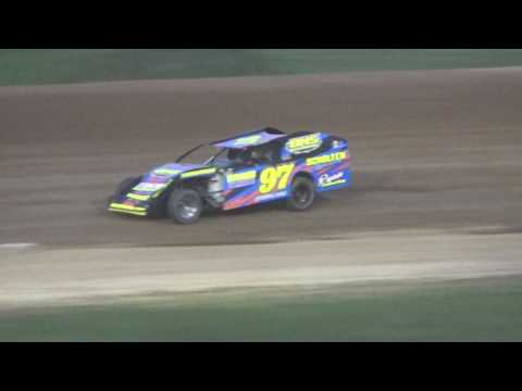 12. I.M.C.A. Heat Race #1 at Crystal Motor Speedway on 05-06-17