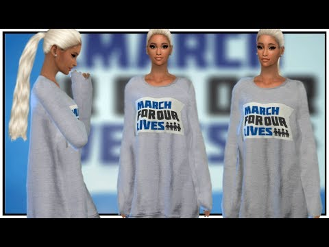 Ariana Grande - March For Our Lives | The Sims 4 + DOWNLOAD