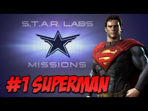 Star Labs - Injustice Gods Among Us - Injustice Gods Among Us - Star Labs #1 Superman