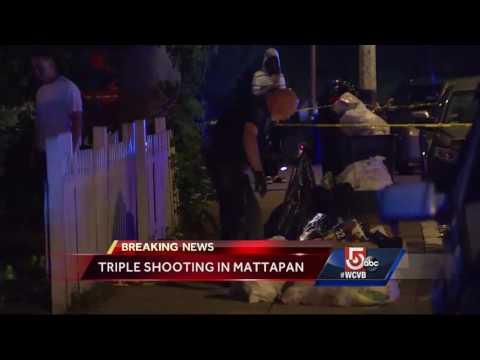 Three shot in Mattapan