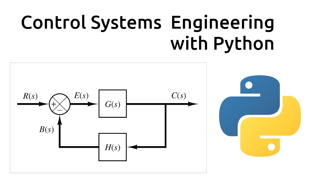 Control Systems with Python - YouTube