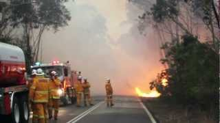 Towlers Bay Bushfire - RAW Vision (HD)