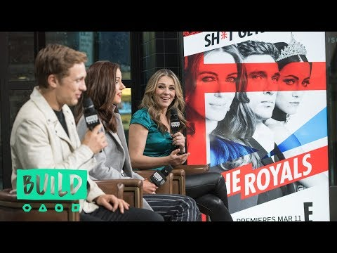 "Elizabeth Hurley, William Moseley & Alexandra Park Talk About Season 4 Of ""The Royals"""