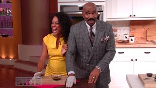 Four great life hacks with coffee || STEVE HARVEY