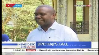 Hajji\'s call : The DPP launches plea bargain guidelines for prosecutors