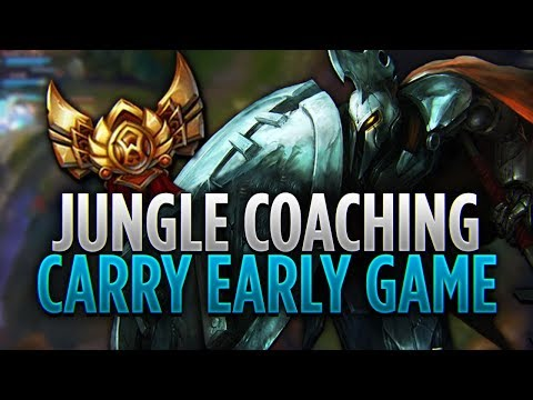 JUNGLE COACHING | HOW TO CARRY IN EARLY GAME | GOLD PANTHEON!