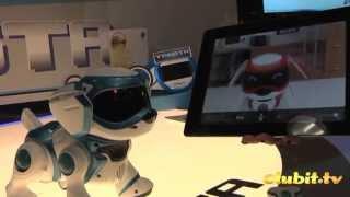 Teksta The New Robotic Interactive Puppy Dog Toy Demonstration