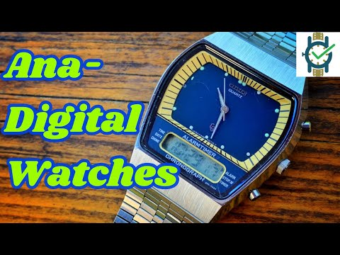 Ana-Digital Watch Collection