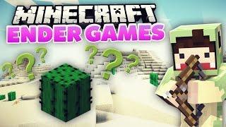 Hallo ich kann nix & bin ein Kaktus xD - Minecraft ENDER GAMES! #20 | unge