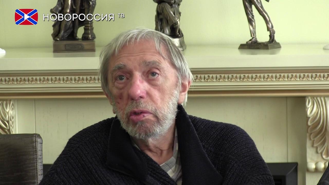 Визит Эдуарда Артемьева в Донецк
