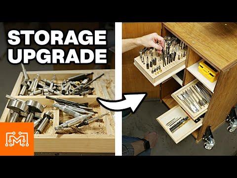 Drill Press Storage Upgrade   I Like To Make Stuff
