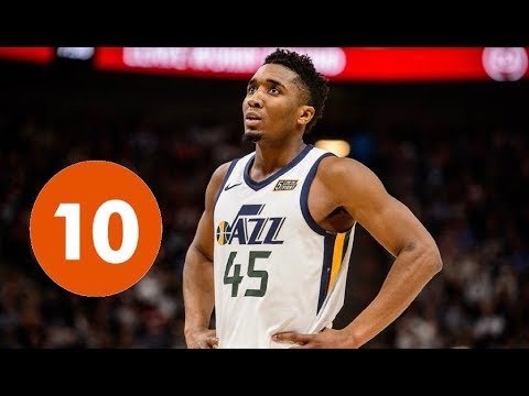 Donovan Mitchell Top 10 Plays Of Career