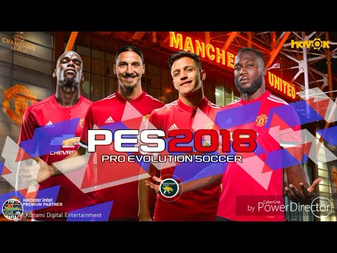 How To Download PES 2018 Manchester United (HD Graphics)