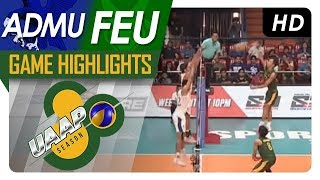 UAAP 80 MV Final 4: ADMU vs. FEU | Game Highlights | April 25, 2018