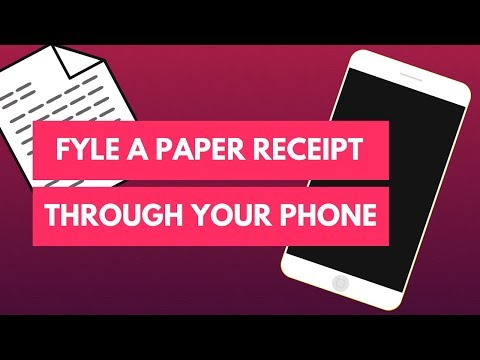 How to Fyle a Paper Receipt into your Expense Report (In 30 seconds or less)