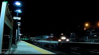 Amtrak Veterans #42 leads P42 #822 & 18 New Viewliner II Baggage Cars at Ludlow, NY