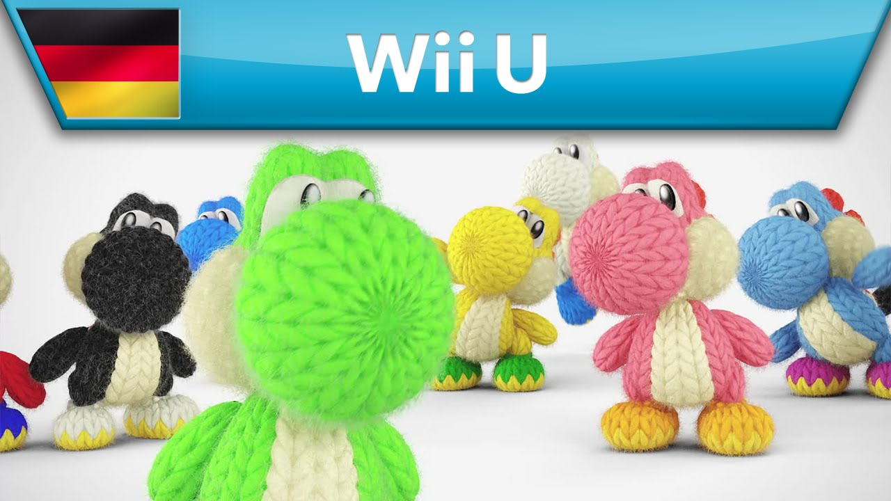 Yoshis Woolly World Jede Menge Muster Wii U Youtube