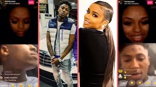 NBA YoungBoy Calls His New Girlfriend Money Yaya In The Christmas Spirit YB HYPED About Christmas