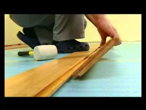 How To Install Tapgo Bamboowood Flooring Youtube