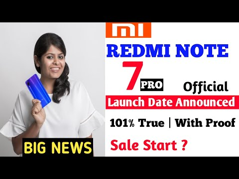 Redmi Note 7 Pro Launch Date In India, Price, Unboxing, Specifications, Camera, Review, Features