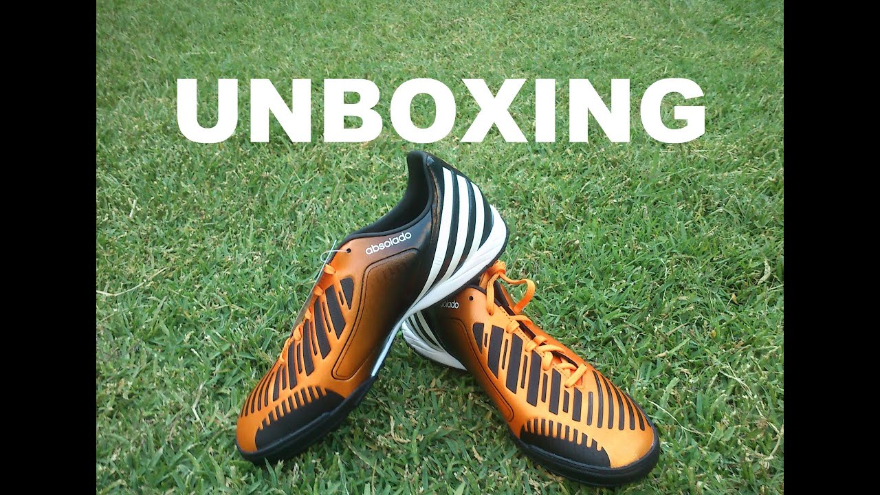 Unboxing adidas predator lz tf arancione / 2012 / 13, hd nero su youtube